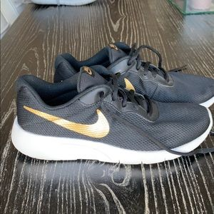 Nike's Gold and Black